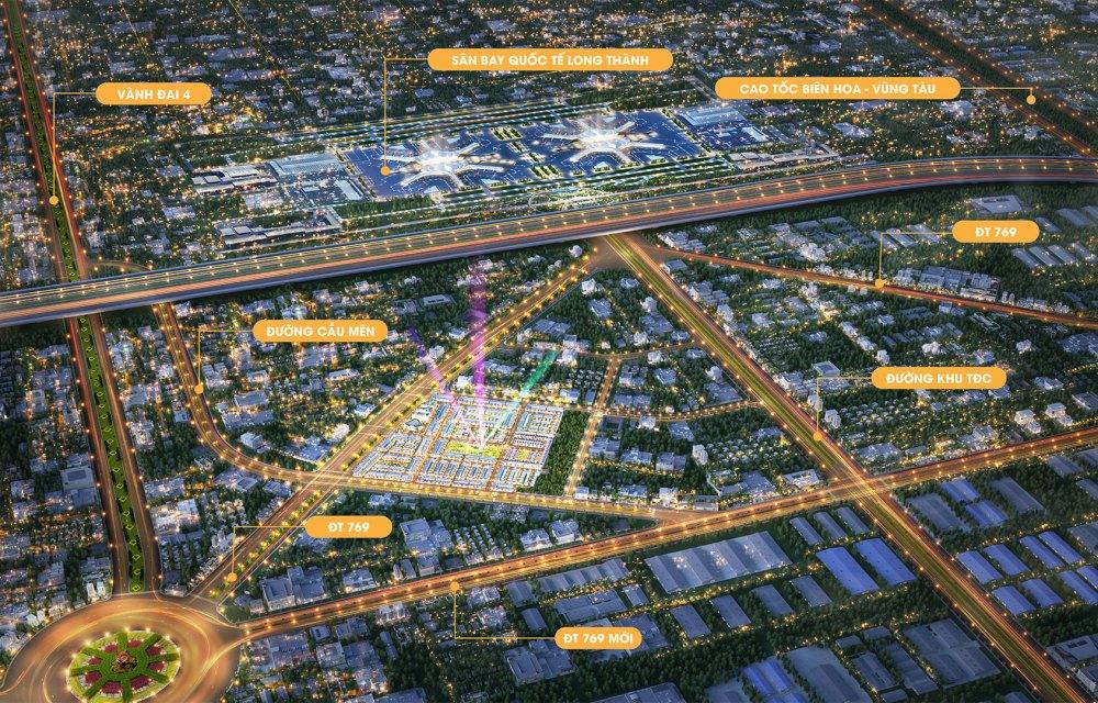 Tiềm năng vị trí khu đô thị Century City Long Thành